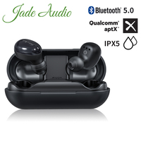 JadeAudio EW1 TWS IPX5 Bluetooth V5.0 Headphones Sports Wireless Earphones with aptX/AAC/SBC Support(Clear Calls/Touch Control)