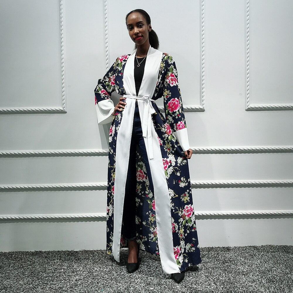 Hijab Muslim Dress Women Coat Abaya Kimono Cardigan Saudi Turkish Islam Clothing Kaftan Dubai Caftan Qatar Robe Musulmane Femme