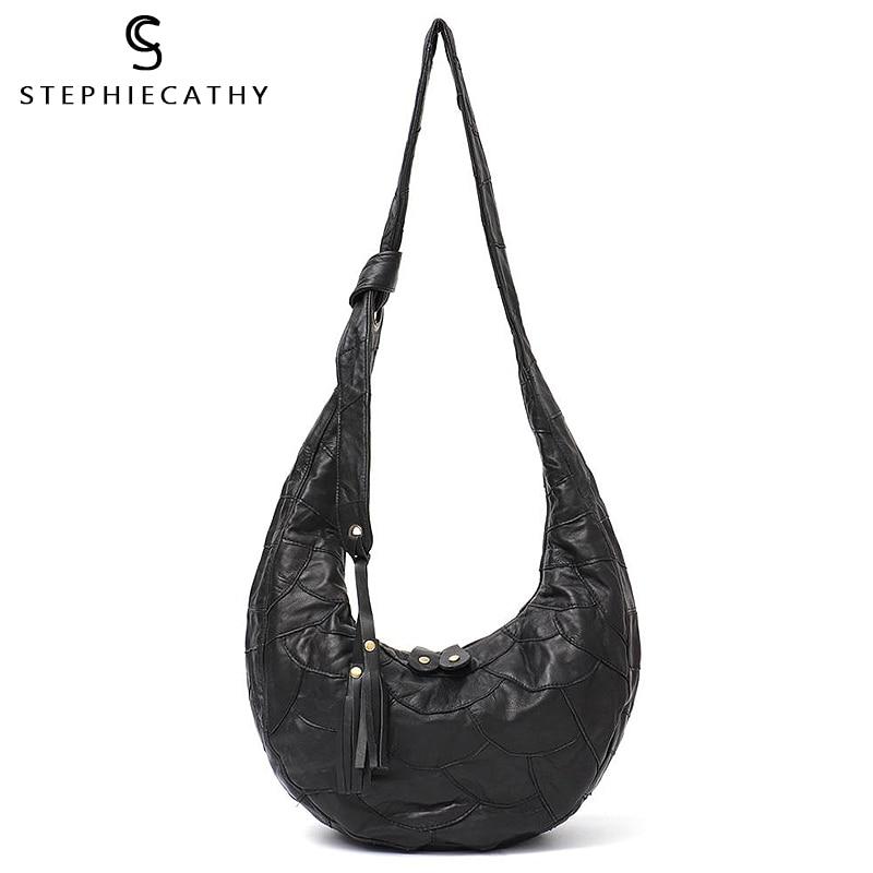SC New Luxury Women Designer Handbags High Quality Brand Vintage Real Leather Tote Big Ladies Shoulder&Cross body Bags 2018