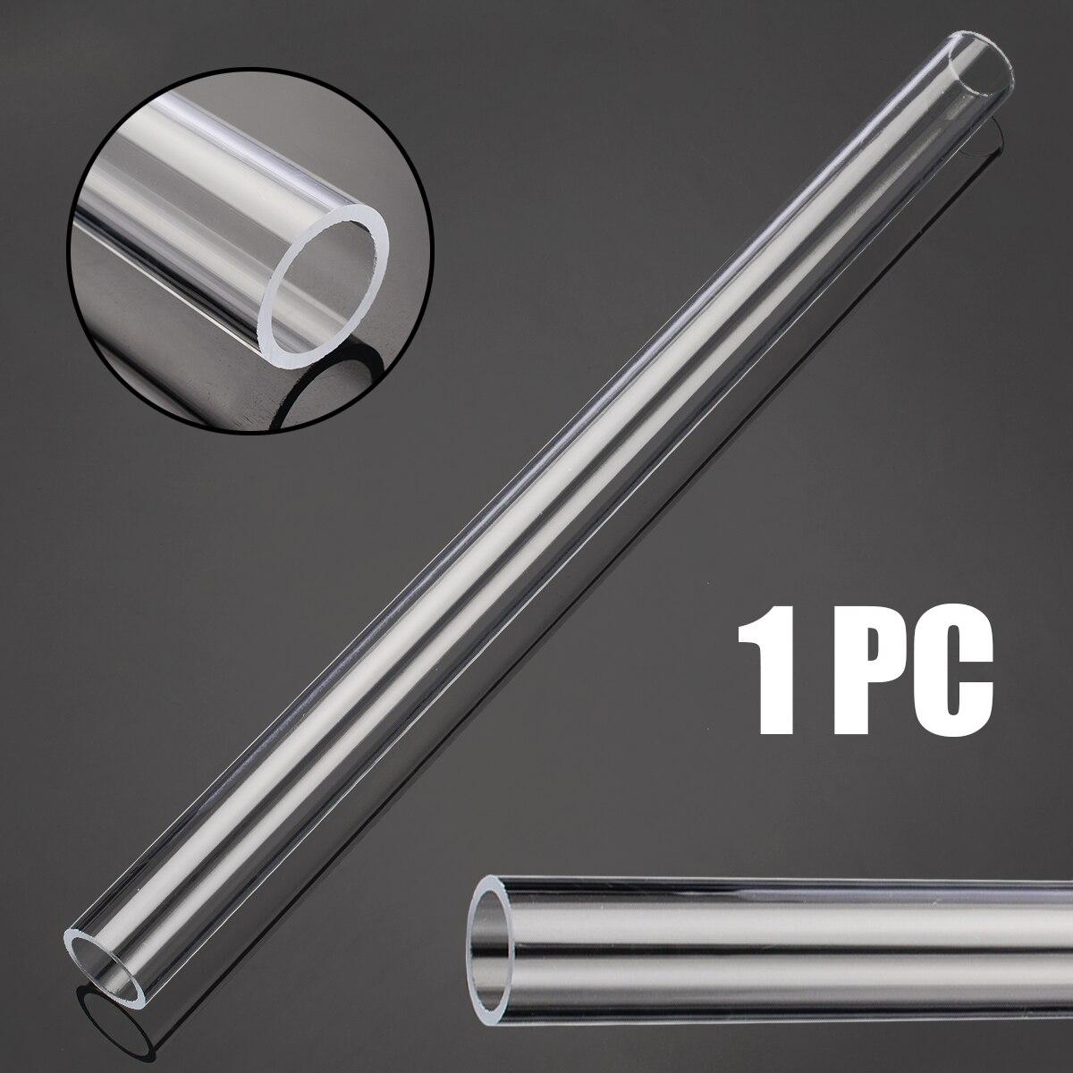1pc Transparent Acrylic Tube Plexiglass Lucite Tube 300mm Length 20mm OD 16mm ID For Aquarium Fish Fittings