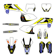 Stickers Graphic Husqvarna Motorcycle for FE TE TX FC 250 TC 125 450 350