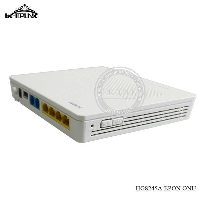 Используется HUA WEI HG8245A волокно FTTH GPON ONU ONT 1GE + 3FE + wifi + USB двойной протокол оптический маршрутизатор оборудование для оптоволокна английская версия