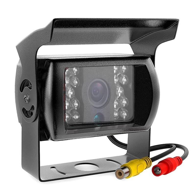 Ночная визуальная камера заднего вида для грузовика, автобуса, автомобиля, широкоугольная парковочная камера заднего вида с углом обзора 170...