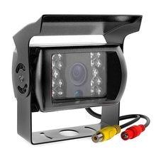 Câmera de visão traseira do carro visual da noite do ônibus do caminhão 170 ° grande angular câmera de estacionamento reversa à prova dwaterproof água ccd monitor de backup automático universal