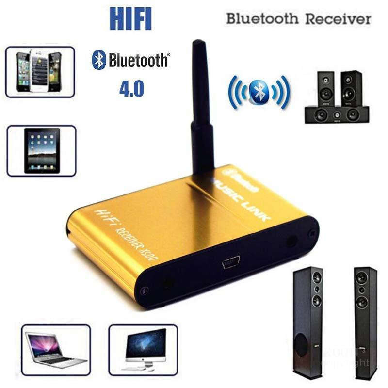 Hifi 4,0 <font><b>Bluetooth</b></font> Adapter <font><b>Bluetooth</b></font> Empfänger RCA 3,5mm Jack <font><b>Bluetooth</b></font> Audio <font><b>Receiver</b></font> Wireless Music Adapter Für Lautsprecher Telefon image