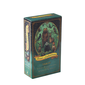 78PCS Forest Of Enchantment Tarot Oracle Cards English PDF Guidebook Table Deck Board Game Party Playing Card Games недорого