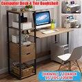 Настольная подставка Largesize для ноутбука, офисный Регулируемый прикроватный стол, компьютерный учебный стол, органайзер для хранения, обуча...