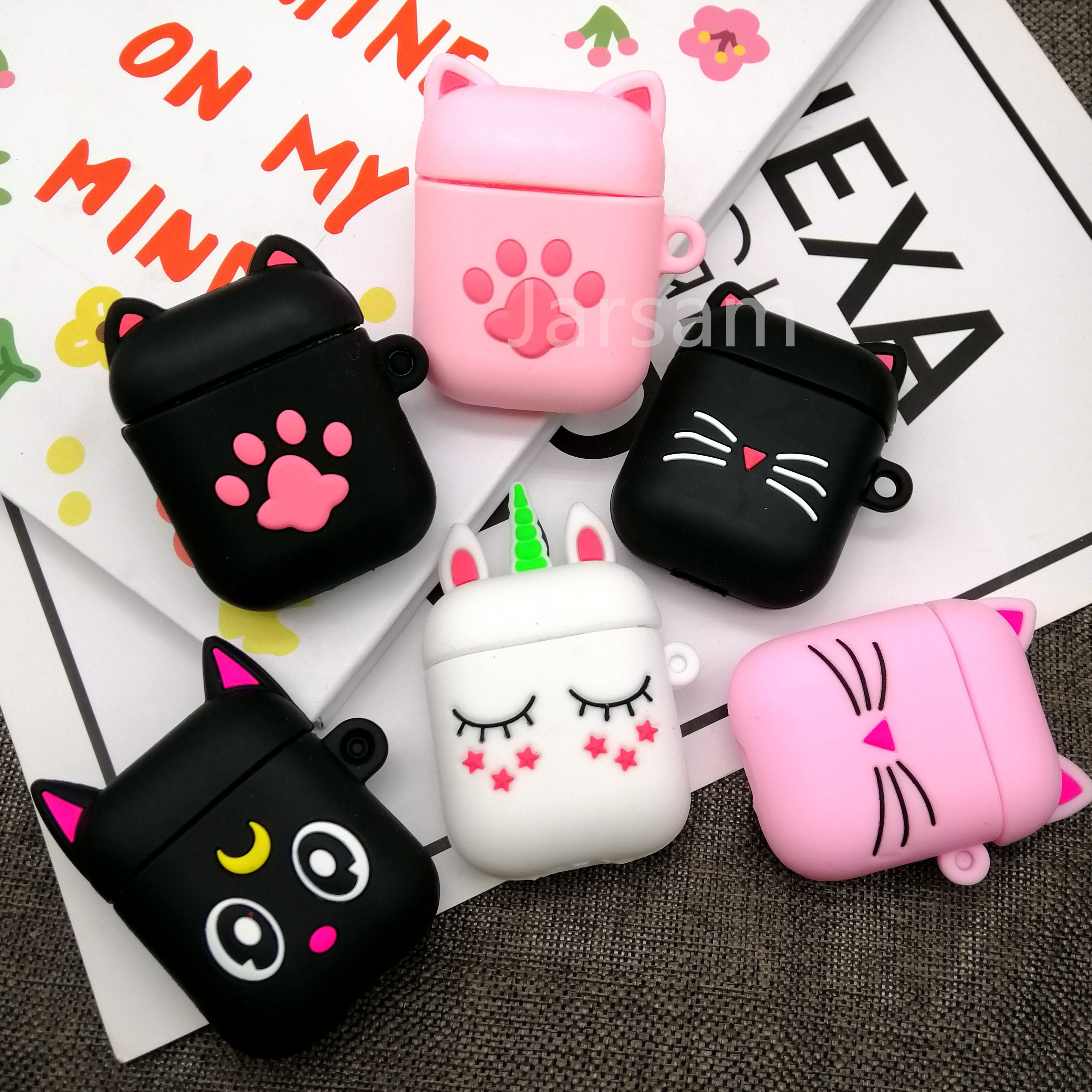 For AirPods Case  Shell Cute Luxury Headphones Skin Protective Cover For Air Pods 2 1 Case