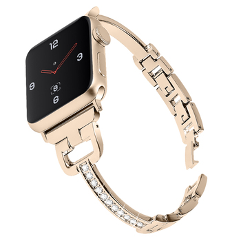 new stainless steel 7 points watch band for apple watch 38mm 42mm iwatch strap black silver rose gold butterfly clasp bracelet Stainless steel Strap For Apple watch 6 band 38mm 42mm iwatch band 44mm 40mm metal watch strap bracelet Watch Accessories 5 4 3