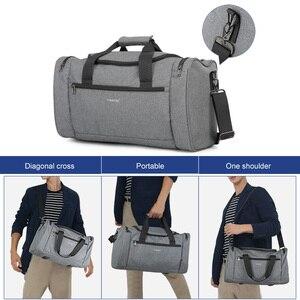 Image 2 - Tigernu 2020 נסיעות שקיות Spalshproof גדול קיבולת אופנה דובון תיק יד נסיעות מזוודות תיקי עבור גברים נשים מקרית זכר