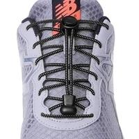 1 paire 23 couleurs Sneaker lacets élastique sans cravate lacets de chaussure étirement serrure paresseux lacets rapide en caoutchouc lacet Shoestrings