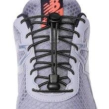 1 пара 23 цветов шнурки для кроссовок эластичные шнурки для обуви без шнурков тянущиеся шнурки ленивые шнурки Быстрый резиновый шнурок шнурки для обуви