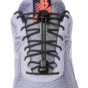 1 para 23 kolory Sneaker sznurowadła elastyczne buty bez sznurówek sznurowadła Stretching Lock Lazy sznurowadła szybkie gumowe sznurowadła sznurowadła tanie i dobre opinie SMATLELF CN (pochodzenie) Polka dot No tie shoelaces 20180512 Poliester About 100 cm 23 colors No tie shoe laces Elastic Shoelaces