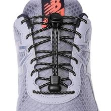 1 para 23 kolory Sneaker sznurowadła elastyczne buty bez sznurówek sznurowadła Stretching Lock Lazy sznurowadła szybkie gumowe sznurowadła sznurowadła tanie tanio SMATLELF Polka dot No tie shoelaces 20180512 Poliester About 100 cm 23 colors No tie shoe laces Elastic Shoelaces