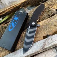 ZT 0562 0562TS couteau de poche tactique tolérance zéro tigre rayure lame de CPM-20CV tactique chasse couteau pliant