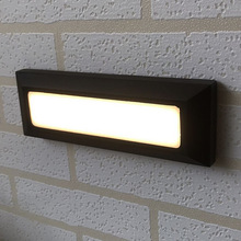 Exterior Stairs Wall Light Garden Lamp Outdoor Led Sand Black 6w IP65 Home AC