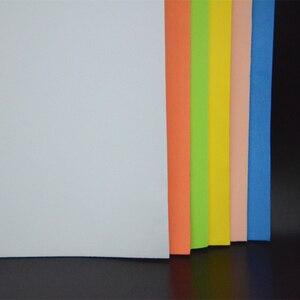 Image 4 - Visualizador de 12 colores, 2mm de grosor, atado de moscas, espuma flotante, 4 hojas/Paquete de papel cuadrado EVA, materiales de pesca con mosca para tolva de hierba