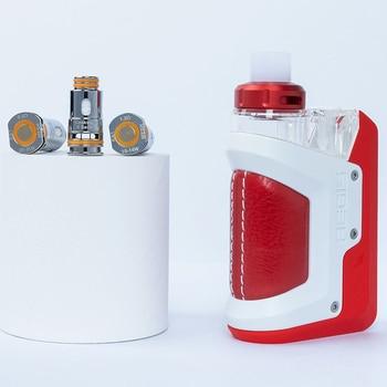 Geekvape – cigarette électronique Aegis Hero RTE, Kit avec sortie 45W, système de dosettes, capacité de 4ML, 1200mAh, batterie intégrée