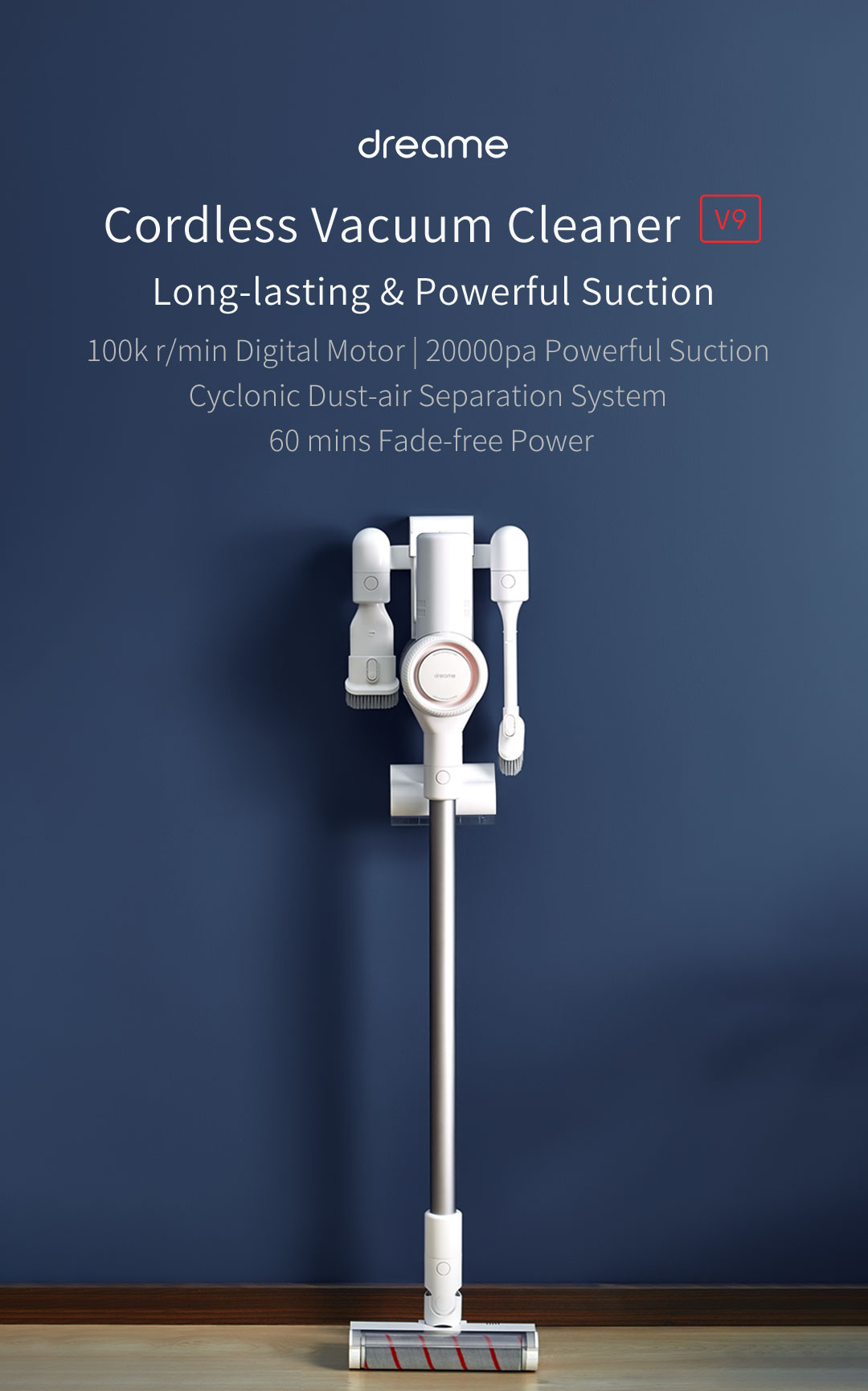 Dreame V9 Wireless Vacuum Cleaner