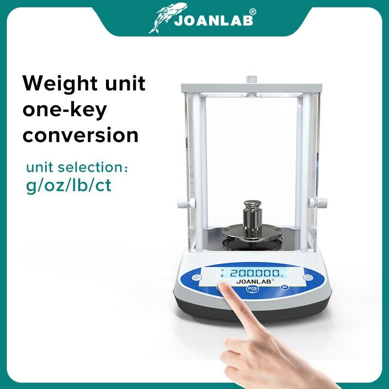 Digital Analytical Balance Laboratory Scales Microbalance Electronic Precision Balance Scale 200g 300g Range 0.001g Resolution 4