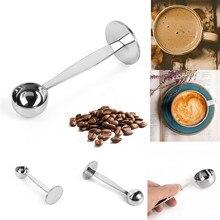 Подставка из нержавеющей стали 304, мерная ложка для кофейного порошка, инструменты для приготовления кофе и чая, тамперы для кофе