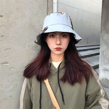 2019 New Patchwork Bucket Hat Women K Pop Hip Hop Caps Gorros Casual Cotton Cap Men Spring Fishing Casquette