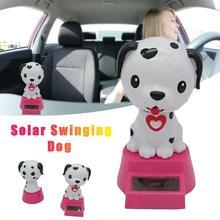 Украшение автомобиля Танцующая кукла игрушки на солнечной энергии качающаяся голова мультфильм собака автомобиль орнамент автомобиль-Стайлинг Аксессуары