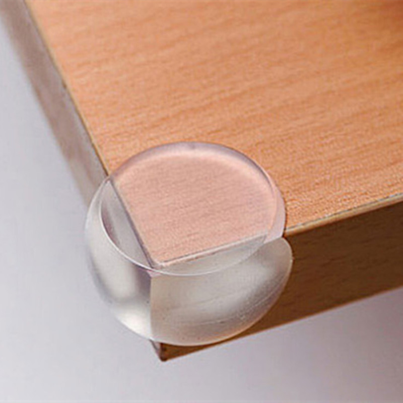1/4Pcs Child Baby Safety Soft Elastic Protector Desk Table Corner Edge Protection Cover Kids Spherical Collision