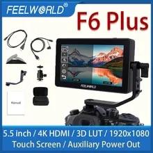 FEELWORLD F6 PLUS 5.5 Inch portable monitor hdmi 3D LUT Touch Screen DSLR Camera Field
