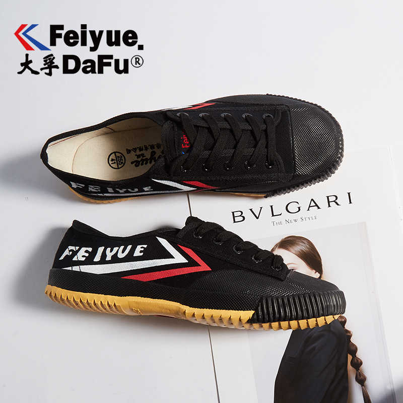 Dafu Feiyue Shaolin Kungfu Canvas Shoes Men's and Women's Sneakers Spring Autumn Casual Low Skateboarding Shoes Sandals 501