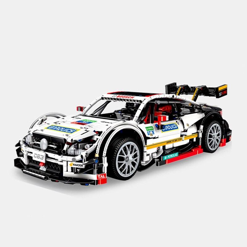 Mould King 13075 Compatible MOC-6687 Super Racing Sports Car Amg C63 Set Building Blocks Creator Expert Bricks Kids Toys Gifts