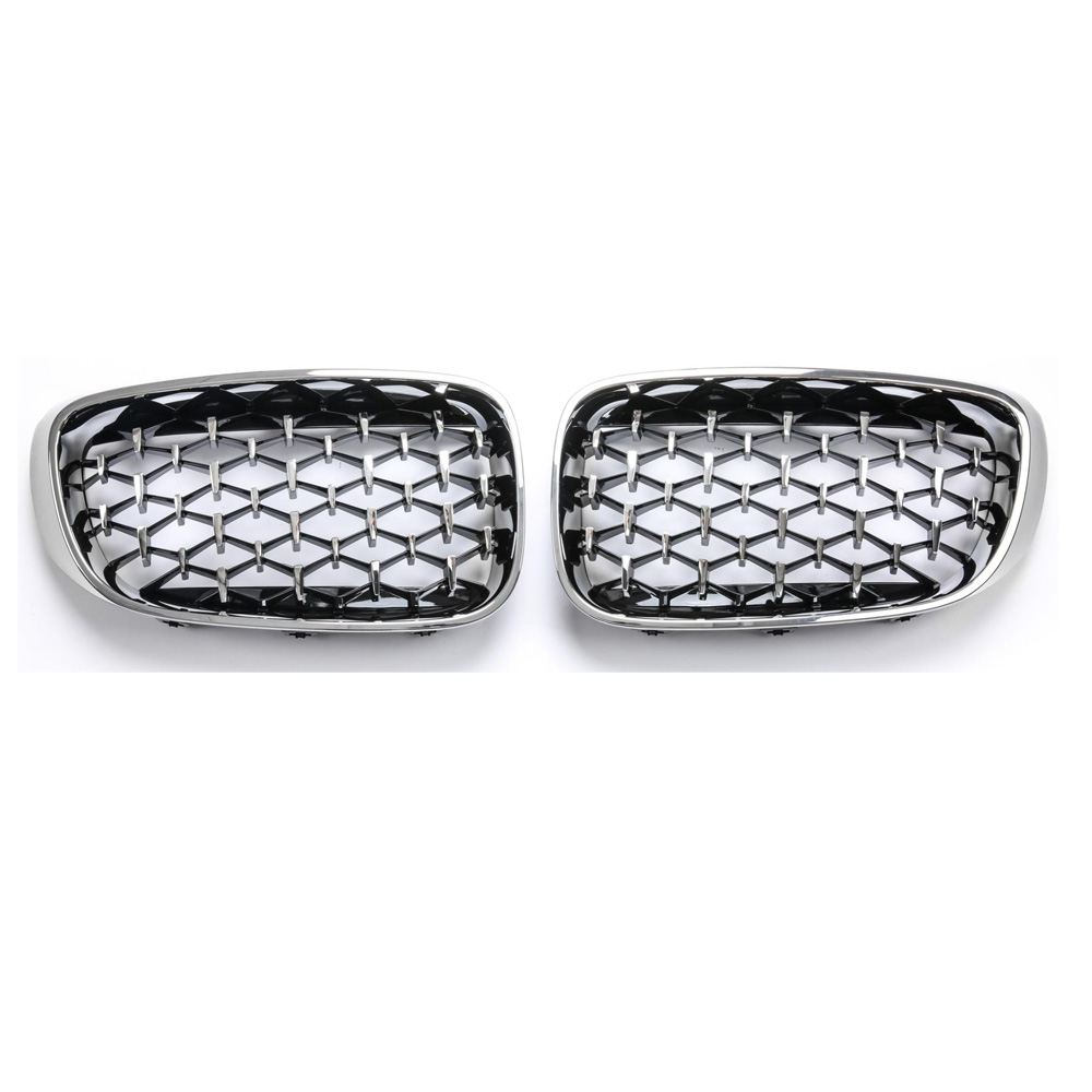 Image 4 - 3 Series GT F34 Diamond Racing Grills Front Kidney Grille Bumper 2013 2019-in Racing Grills from Automobiles & Motorcycles