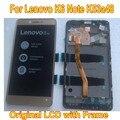 ЖК-дисплей с дигитайзером на сенсорной панели  с рамкой  для Lenovo K6 NOTE K6 Plus k53a48  мобильный телефон
