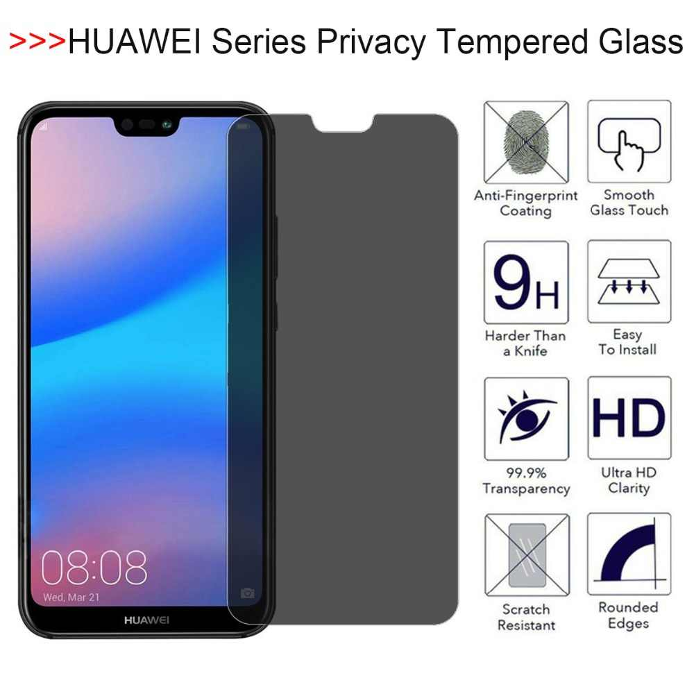 YINZHI Screen Protector Film Black 25 PCS Scratchproof 11D HD Full Glue Full Curved Screen Tempered Glass Film for Huawei Honor View 20 // nova 4 Color : Black Clear