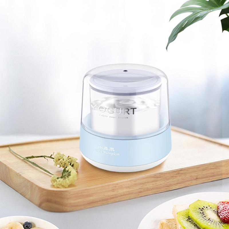 Mini Automatic Electric Yogurt Maker Portable USB Double Sealed Machine With 8oz Glass Jar Kitchen Household Appliances