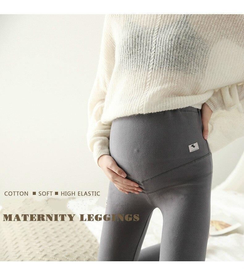 Roupas para grávidas quente leggings gravidez para