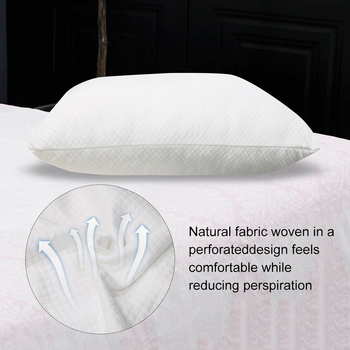 Hot Pillows for Sleeping Knitted Polyester Memory Cotton Pillow