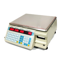 Dahua balança de etiqueta de bancada  balança de impressão de dinheiro registrador de etiqueta balança de impressora pos balança de varejo com impressora