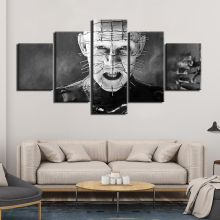 Hellraiser horror movie Posters Canvas Painting 5 Pieces  Wall Decor Art HD Print Pictures poster F1234