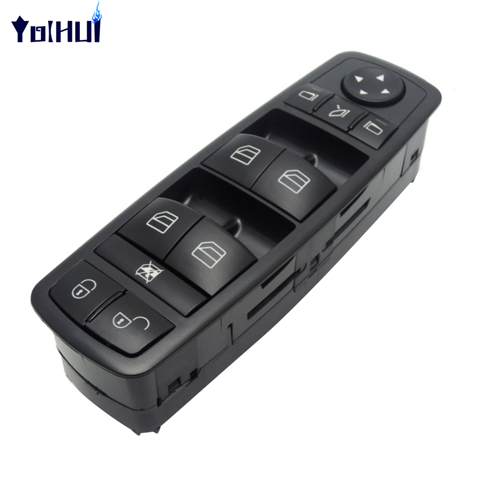 <font><b>A1698206710</b></font> Power Window Switch for Mercedes-Benz W169 W245 Car Window Electric Control Lifter Master Switch image