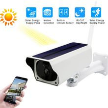 Solar WiFi IP Camera 1080P HD Outdoor Wireless Security Camera  WaterProof 2MP Security CCTV Video Two Way Audio Outdoor Camera good waterproof hd ip camera 1080p cctv security ip cam network video camera outdoor with audio in support pc mobile remote view