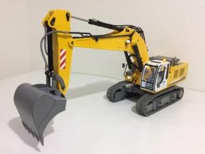 Image 4 - RTR plein métal 1/12 RC pelle/RC modèle dexcavatrice hydraulique