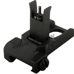 """Image 1 - Emersongear tattico vista anteriore vista posteriore SR 25 Flip Up fol""""per Airsoft caccia giocattolo accessorio"""