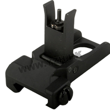 emersongear Emerson Tactical Front Sight Rear SR-25 Flip Up Foliding For Airsoft Hunting Toy Accessory