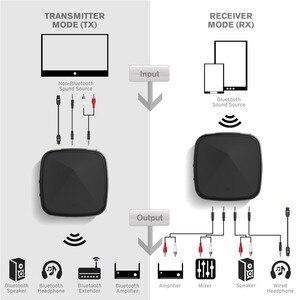 Image 3 - Bluetooth 5.0 Audio Zender RCA Ontvanger CSR8675/8670 AptX LL HD 3.5mm Jack Aux SPDIF Draadloze Adapter voor TV Auto Speaker