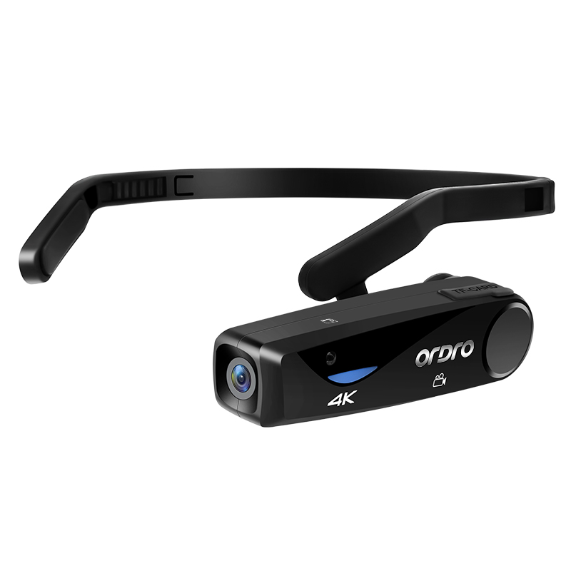 ORDRO EP6 4K 25fps Full HD носимые видеокамеры CMOS сенсор Широкоугольный объектив Мини камера 1080P Цифровая видеокамера Vlog камера