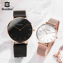 Bestdon Couple Watches Pair Men And Women Watches Minimalist Unisex Fa