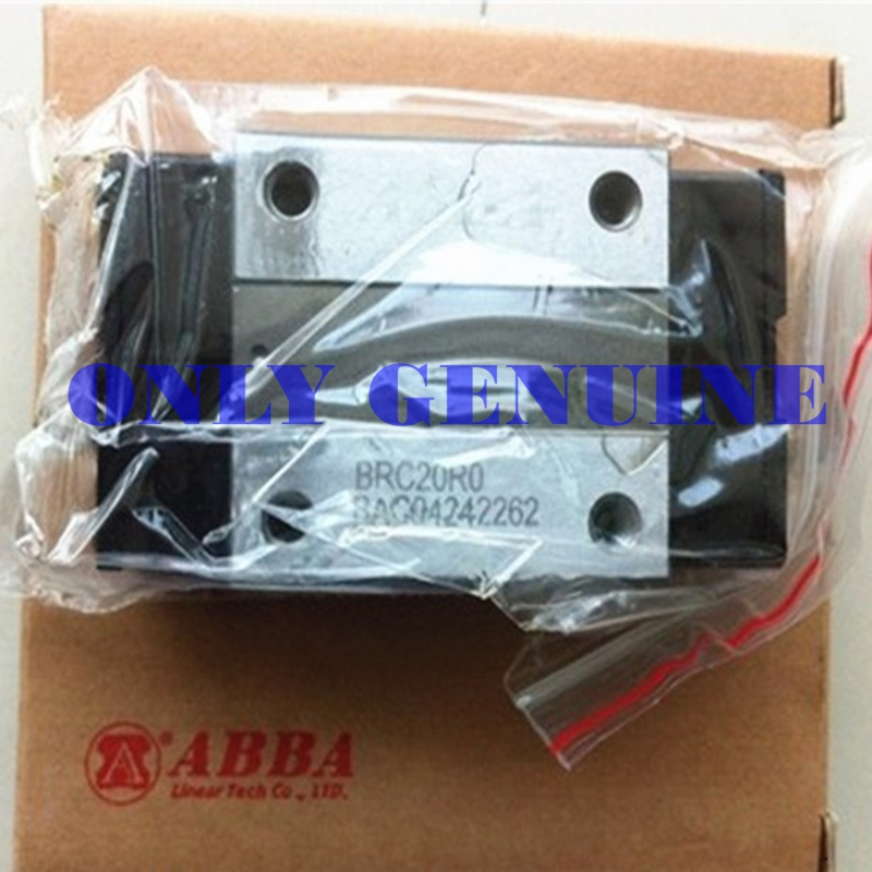 Free Shipping ABBA Original Slide Block 2pcs BRC15 Add Differet Length Of Guide Rail For CNC