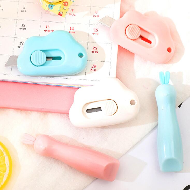 2020 Sharkbang Kawaii Cloud Art Knife Express Unpacking Envelope Office Paper Cutting Art Knife School Stationery