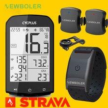 CYCPLUS-ordenador M1 con GPS para bicicleta, velocímetro, Sensor de ritmo cardíaco de cadencia y ANT para Garmin Wahoo Bryton IGPSPORT Strava